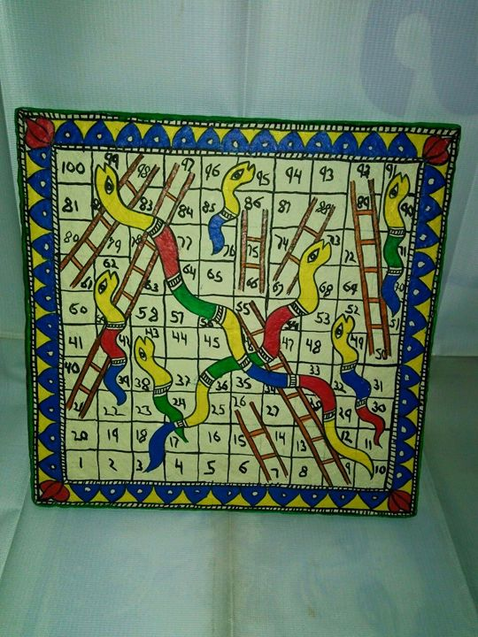 snakes & Ladders game - nikhilbrothershandicrafts