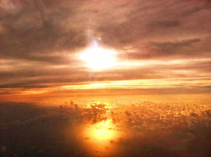 sunset - love landing