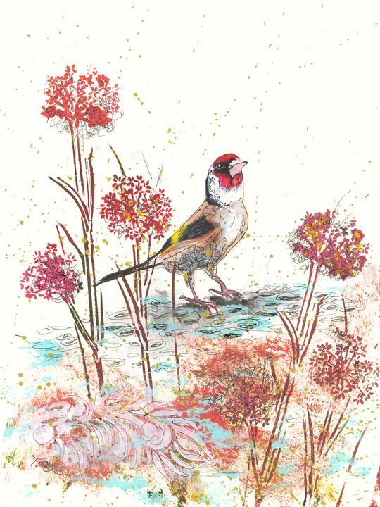 The Goldfinch - Tracey Unwin