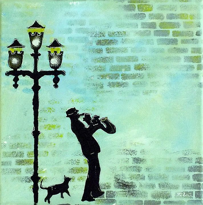 Cool Cat Blues by Lamplight - Tracey Unwin