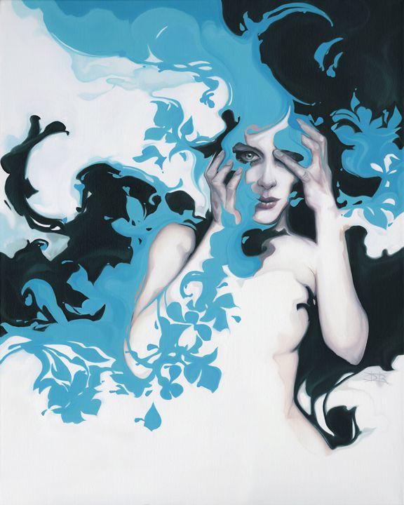 Blue Passenger - Danny Roberts Art