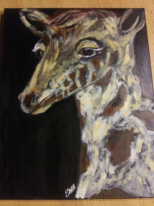 Baby giraffe - ArtprincessShop
