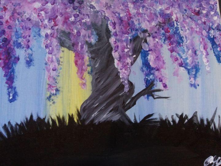 Lavender Willow tree - ArtprincessShop