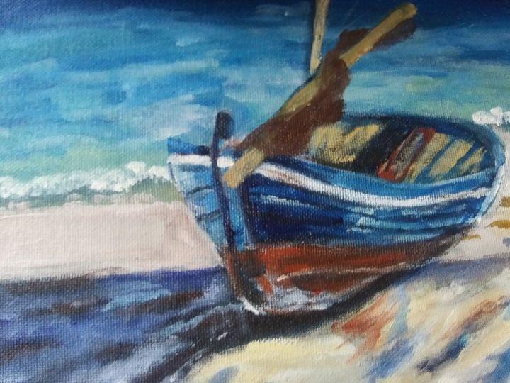 Sail boat - ArtprincessShop
