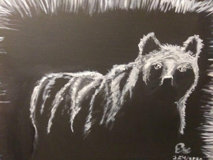 Bear silhouette - ArtprincessShop