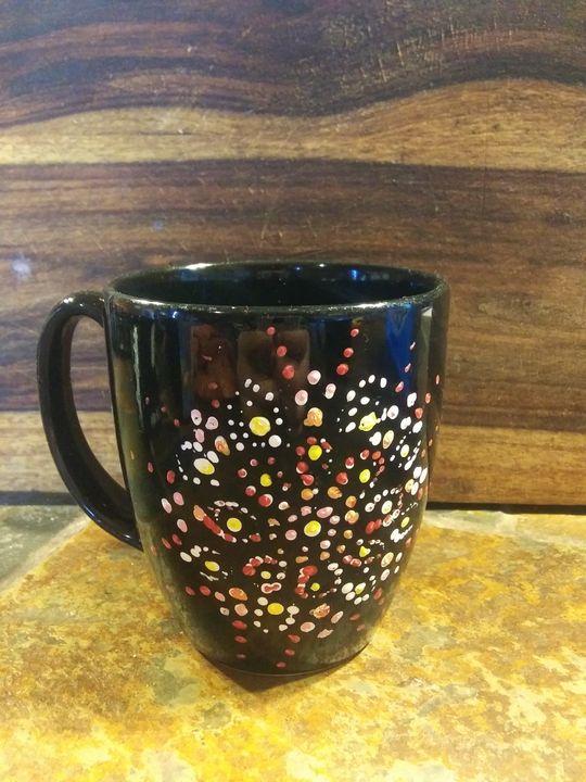 Mandela hand painted mug - ArtprincessShop