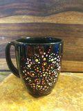 Hand painted coffee mug