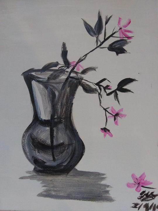 Sakura cherry blossom painting - ArtprincessShop