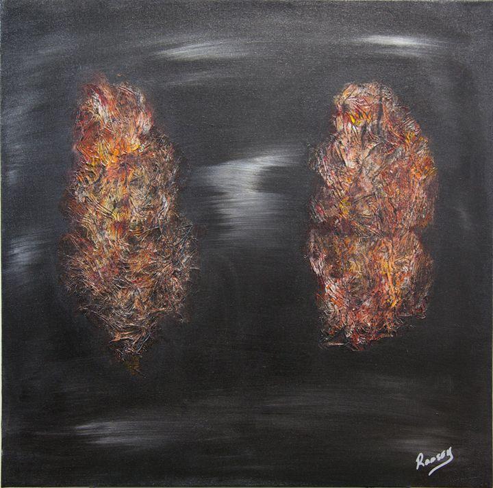 Twin Flames - Amy Ramsey Art