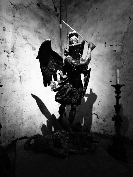 Mission San Miguel Arcángel - Amy Ramsey Art