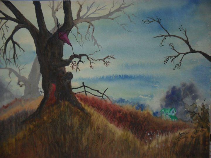 the lost kite - Aspia