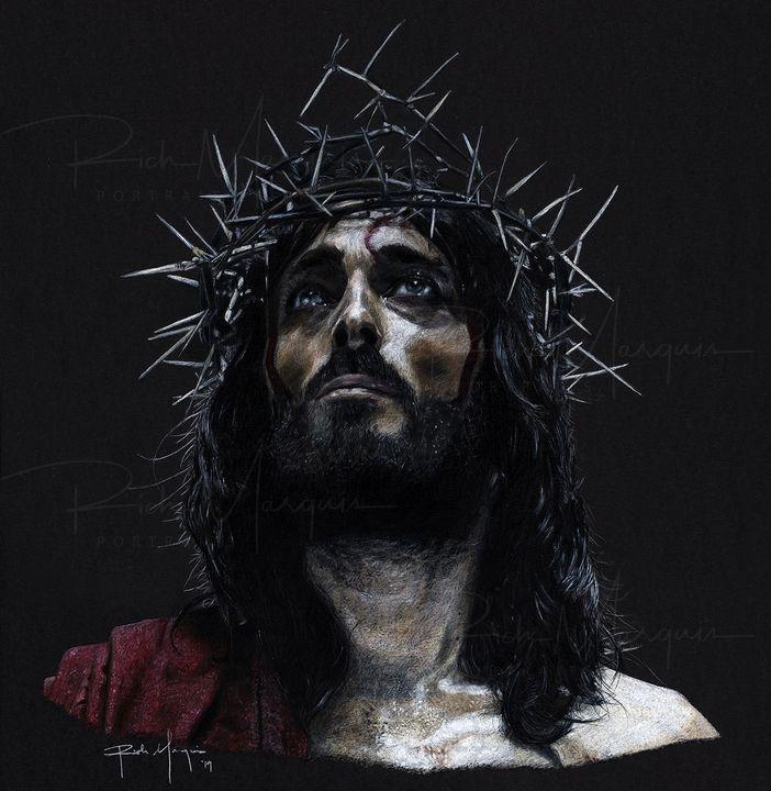 """""""Jesus of Nazareth"""" - Rich Marquis Portraits"""
