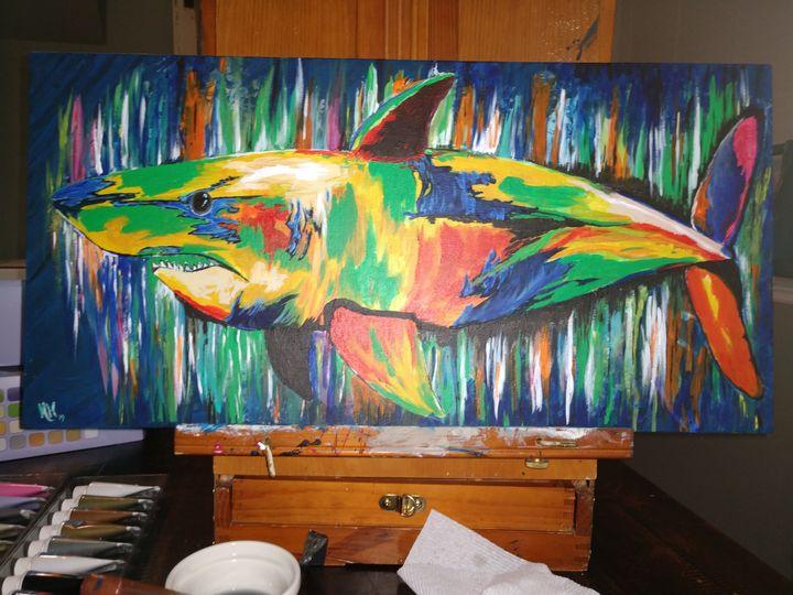 The Colorful Hunter - Melinda Hutcheson