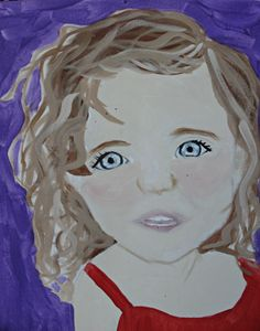 Little Girl With Curls