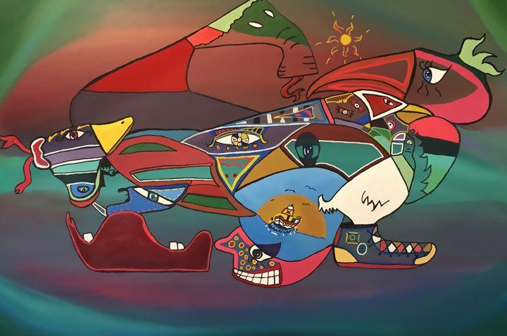 Fragments - Luis Alberto Rivera