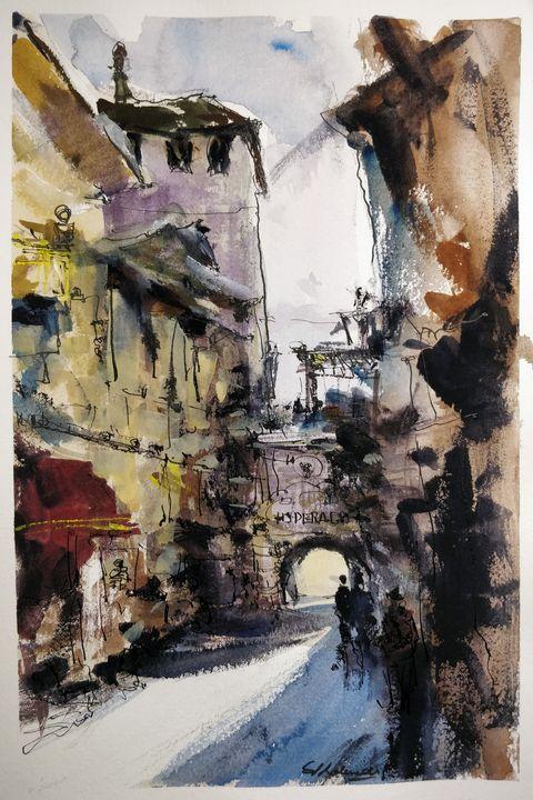 Study 36 - Sunil Kalmady Art