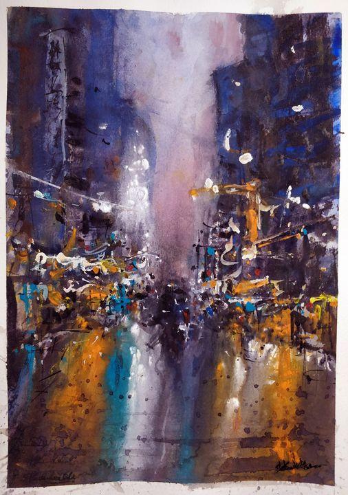 New York - Sunil Kalmady Art