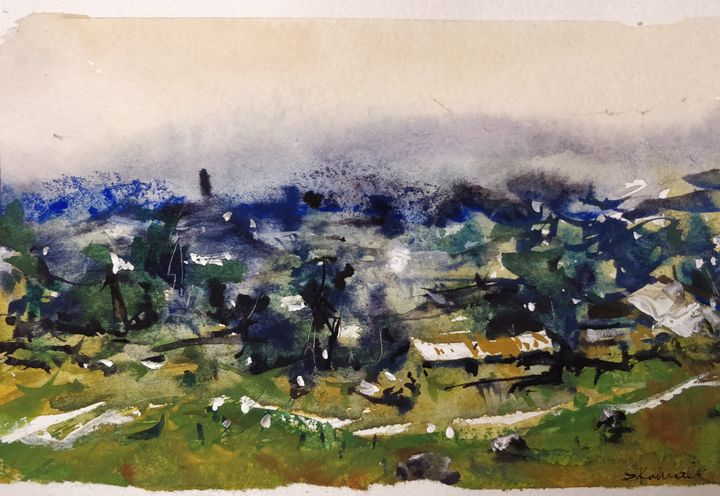 Study 30 - Sunil Kalmady Art