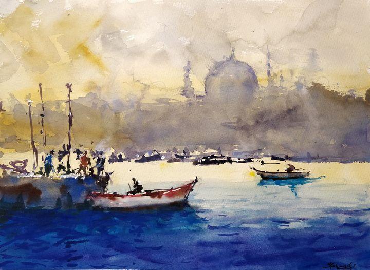 Study 45 - Sunil Kalmady Art