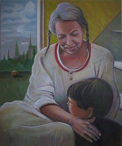 Mom and Gabriele