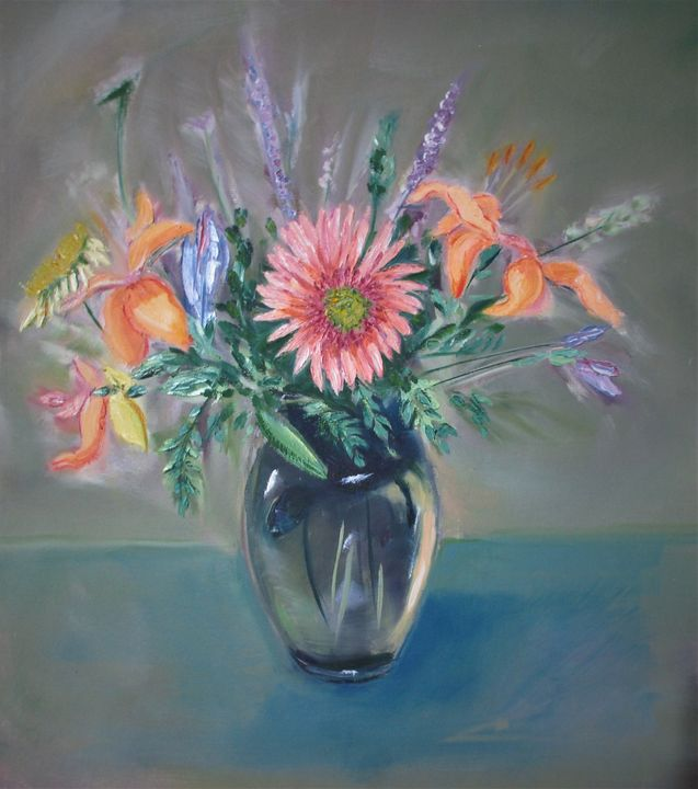 flowers study 2 - Art By Cyril