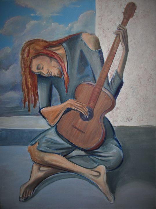 Blue Dread - Art By Cyril