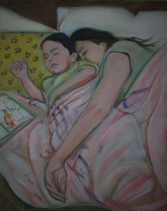 Araceli y Samantha - Art By Cyril