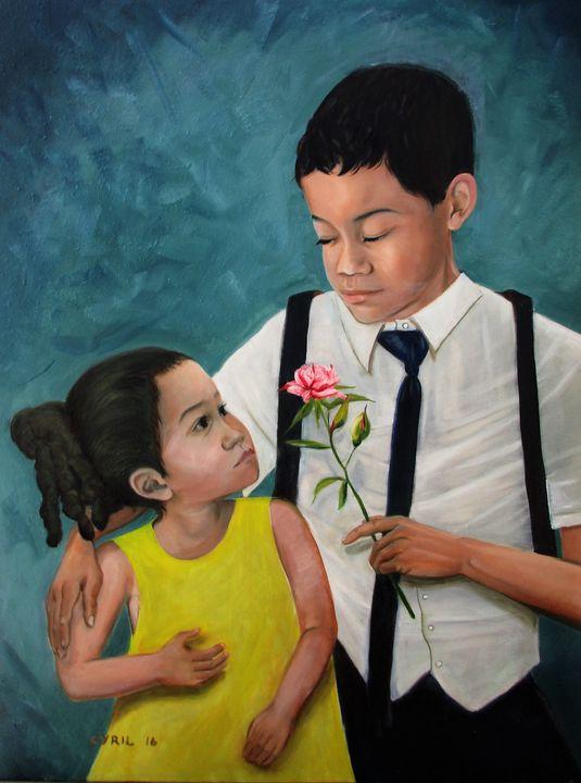 Joseph and Sophia - Art By Cyril