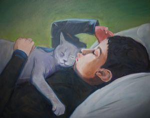 Joseph's Cat Smokey
