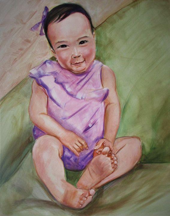 Baby Alia (mixed beauty) - Art By Cyril