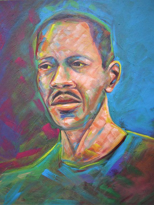 Self portrait - Art By Cyril