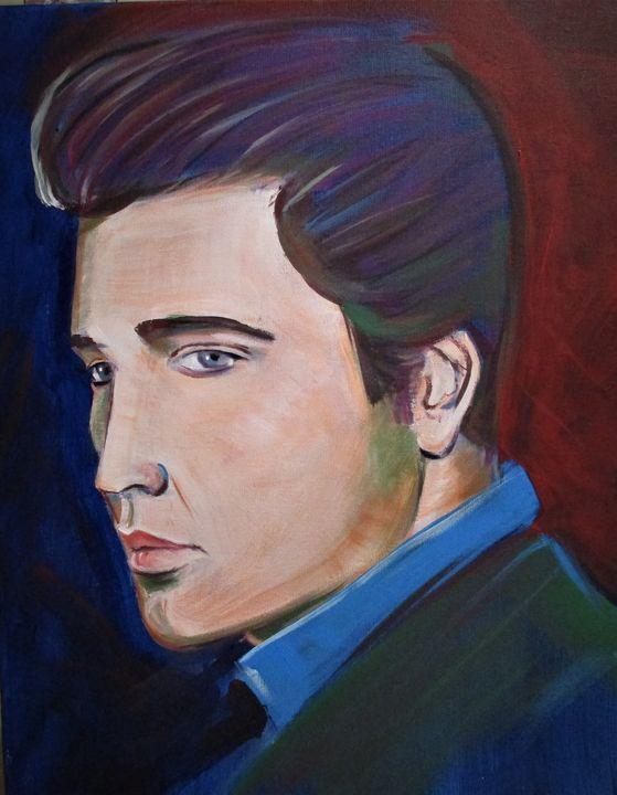 Elvis - Art By Cyril