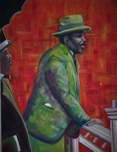 Marcus Garvey (canvas)