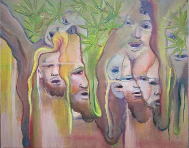 Rasta Heads - Art By Cyril