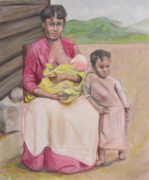 Tribute African American woman 1800s - Art By Cyril
