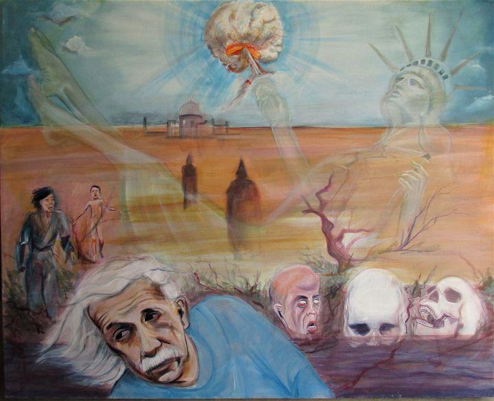 Lady Libertys shame - Art By Cyril