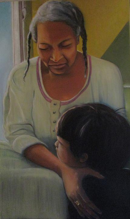 Grandma - Art By Cyril