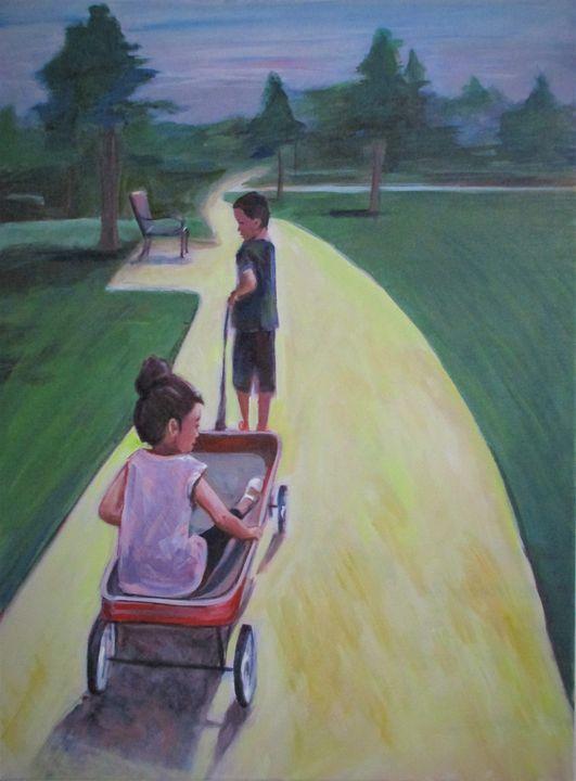 Grandkids 2020 - Art By Cyril