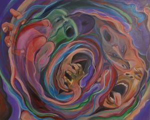 Luchando contra los espiritus malos