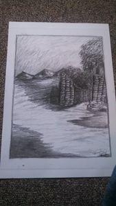 a path in ruins