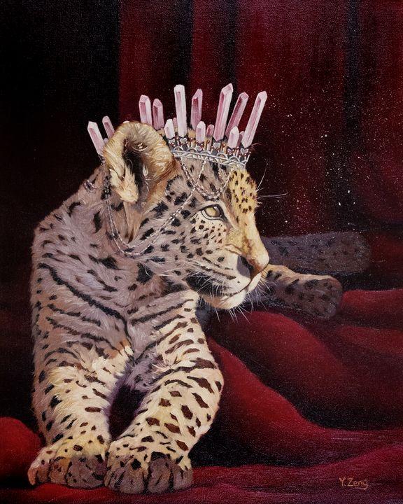 Princess leopard - Yue Zeng