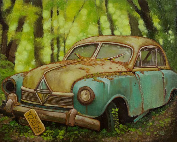 Abandoned car - Yue Zeng