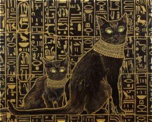 Egyptian black cats Apprentice - Yue Zeng