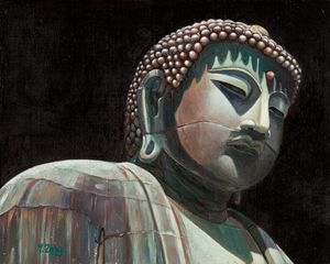 Oil painting - Buddha