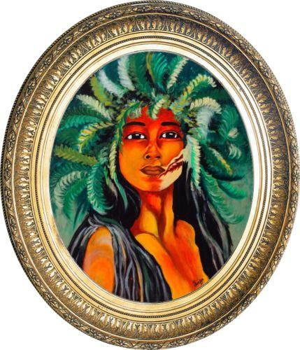 Sumerian Tribal Princess - Colors Of Life
