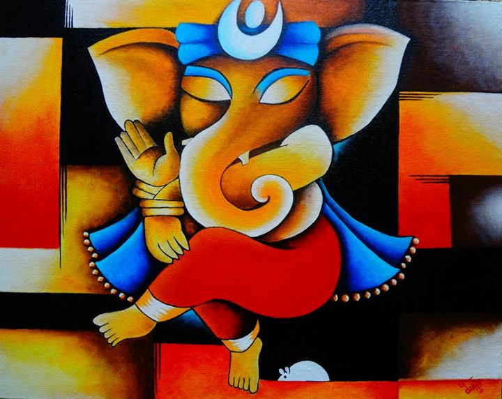 The Colorful Elephant God! - Colors Of Life