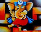 The Colorful Elephant God!