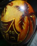 egg shell painting