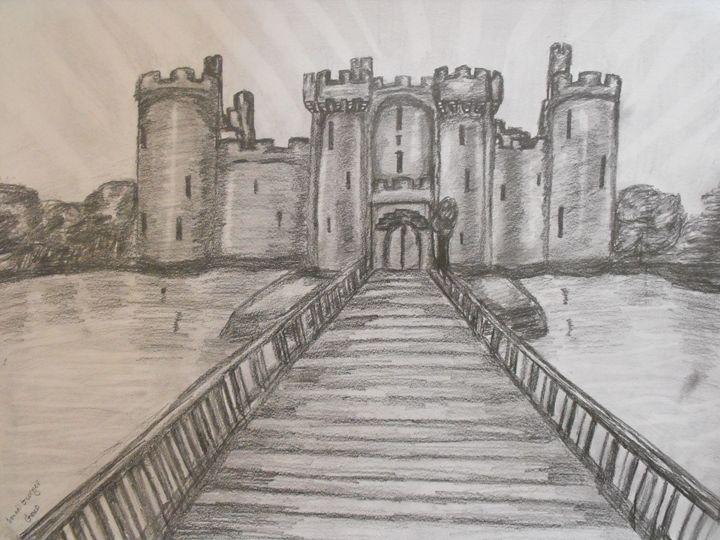 Bodiam Castle, Sussex, England - Geko