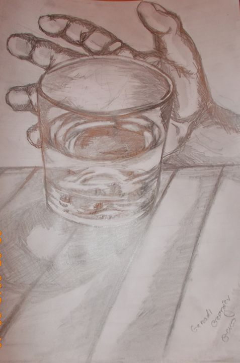 glass of vodka - Geko